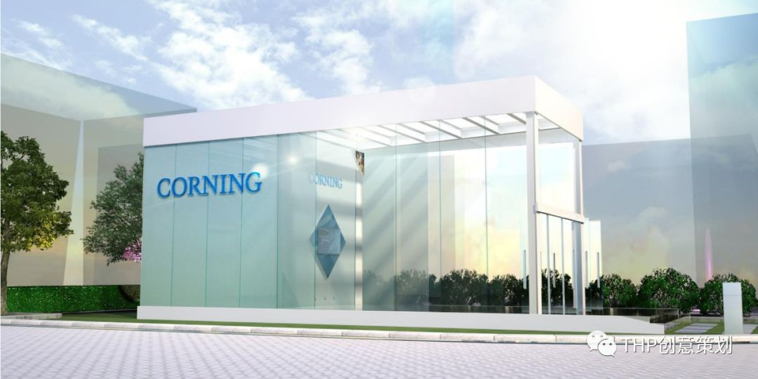 Corning Outdoor Display