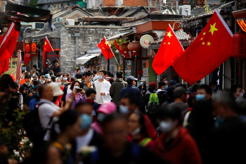 China on economic recovery, Tourism boom in 'Golden Week'